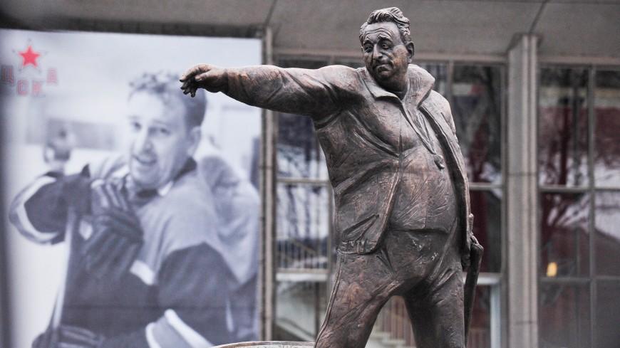Дацюк, Буре и Якушев сыграли в хоккей в честь Тарасова