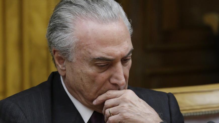 Генпрокурор Бразилии предъявила обвинения в коррупции президенту Темеру