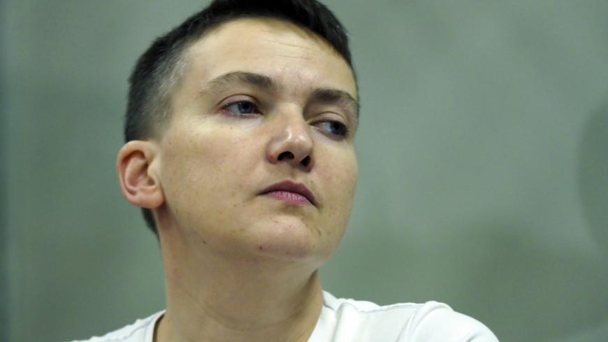 Савченко объявила о начале сухой голодовки