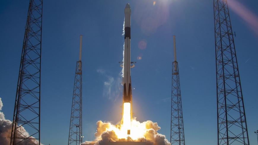 SpaceX с пятого раза запустила ракету с новейшим спутником для ВВС