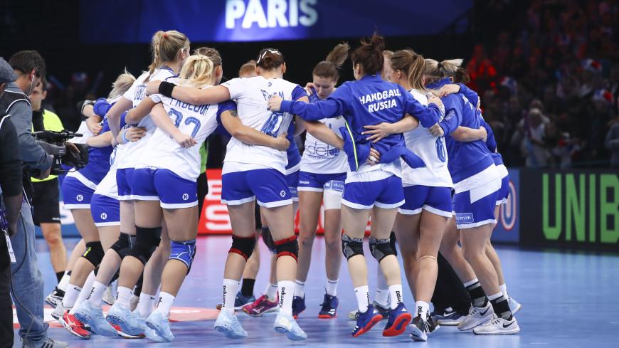 Российские гандболистки выиграли серебро на чемпионате Европы