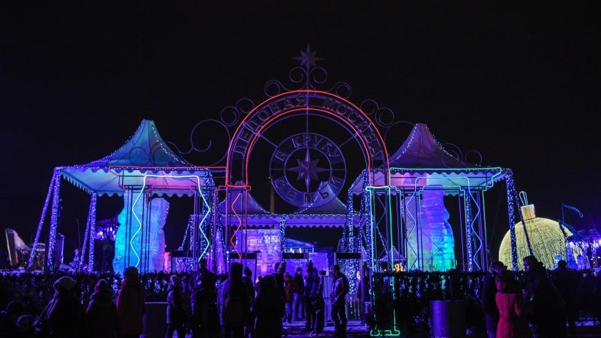 «Ледяная Москва»: на Поклонной горе открылся фестиваль скульптур изо льда