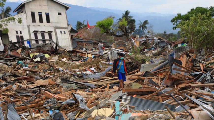 нежный мягкий фото индонезия цунами потому