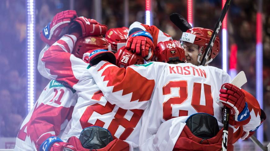 Молодежная сборная России по хоккею одолела швейцарцев в матче ЧМ
