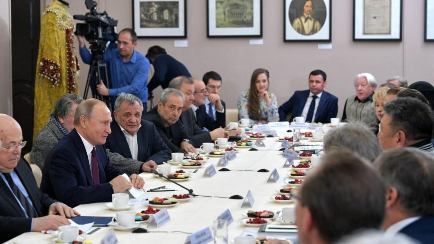 Путин: Сохранение искусства вне политики – хороший знак