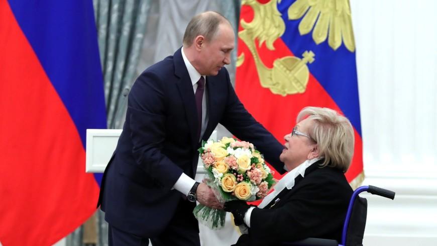 Путин поздравил Галину Волчек с юбилеем