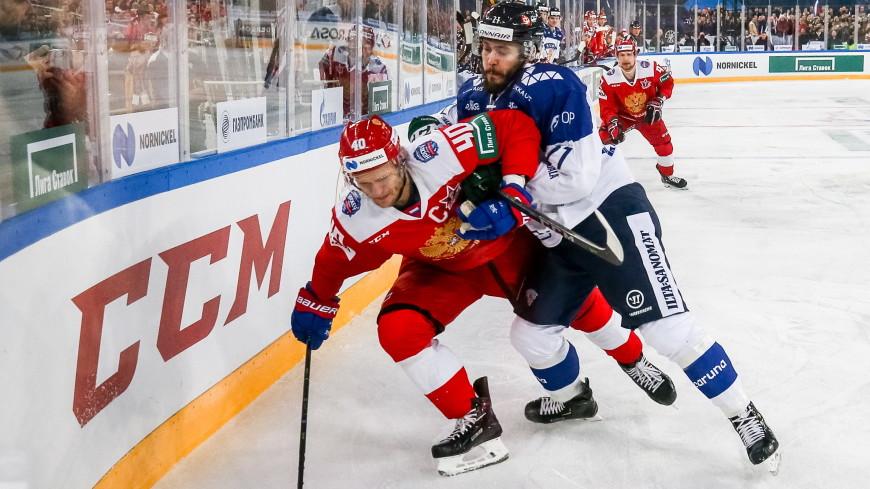 На матче по хоккею Россия – Финляндия побит рекорд посещаемости