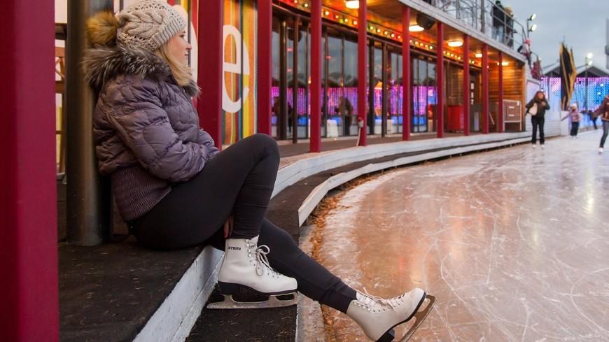 В lдесятках парках Москвы откроются катки с натуральным и искусственным льдом