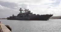 Во Владивостоке ликвидирован пожар на корабле «Маршал Шапошников»