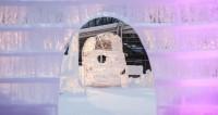Застывшая сказка: Минск украсили ледовыми скульптурами