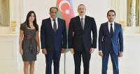 Алиев принял верительные грамоты нового посла Египта