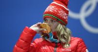 Олимпийскую чемпионку Анну Гуськову встретили в Минске как героиню