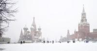 К 8 марта в Москве выпадет месячная норма снега