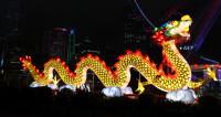 Огненные пагоды, драконы и леса: в Китае – праздник фонарей