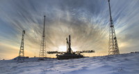 Ракета «Союз 2.1а» стартовала с космодрома Байконур