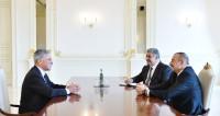Алиев обсудил с Кэри подготовку к «Формуле-1» в Баку
