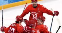 Российские хоккеисты разгромили Норвегию и вышли в полуфинал
