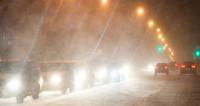 Снегопад парализовал дорожное движение в Испании