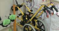 Дипломаты подарили коляски и ходунки детям-инвалидам в Казахстане