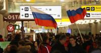 Эмоции переполняют: в Шереметьево встречают олимпийцев
