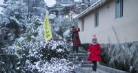 На Китай обрушились сильнейшие снегопады