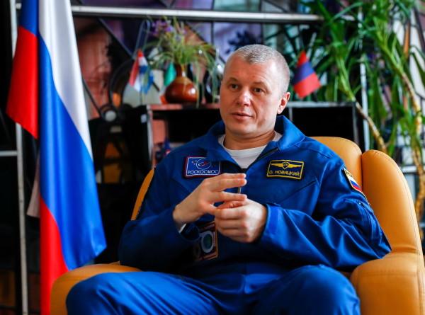 Олег Новицкий: Смотришь на Землю из космоса и видишь, что между странами нет границ