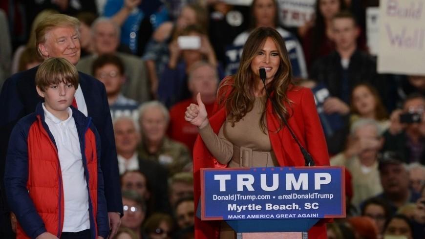"""Фото:  """"Белый Дом США"""":http://whitehouse.gov, меланья трамп"""