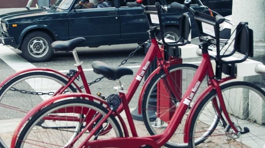 Возле станций МЦК установят новые пункты велопроката