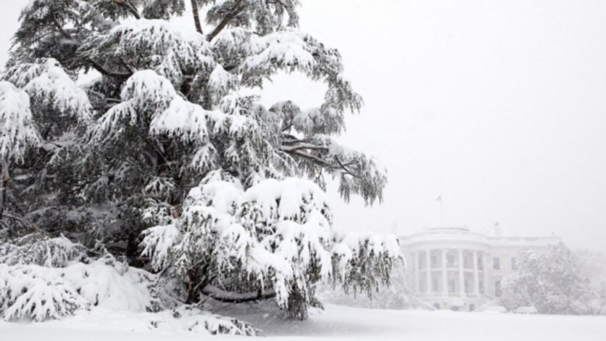 """Фото: Pete Souza, """"Белый Дом США"""":http://whitehouse.gov, снегопад, белый дом, зима в сша, зима, снег"""