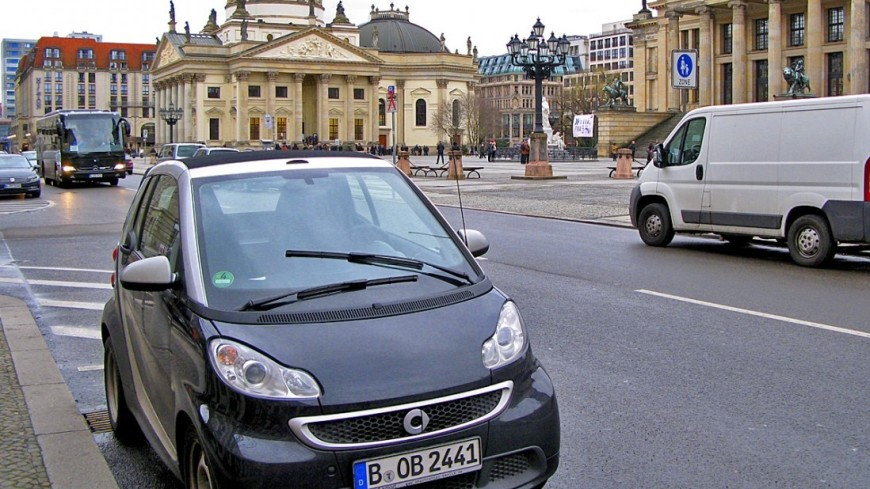 Немецкие города смогут запрещать въезд дизельных автомобилей