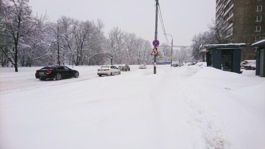 Снегопады в Москве продлятся до марта