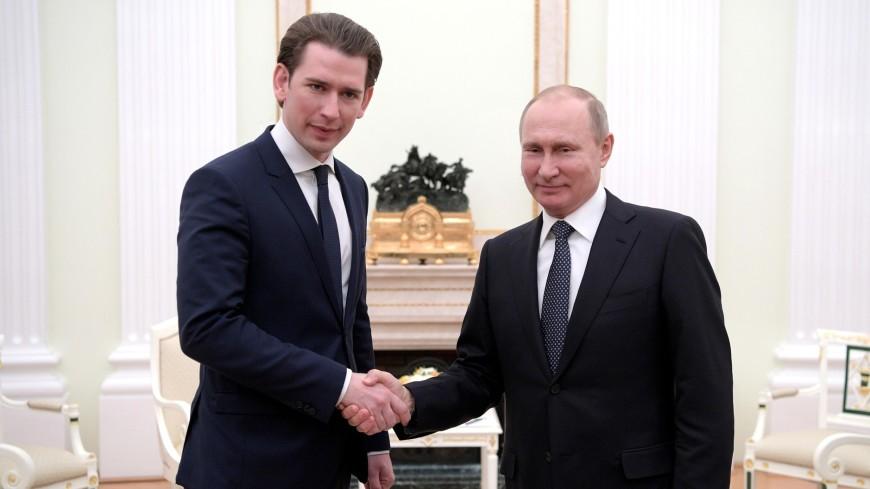 Путин и Курц признали безальтернативность Минских соглашений