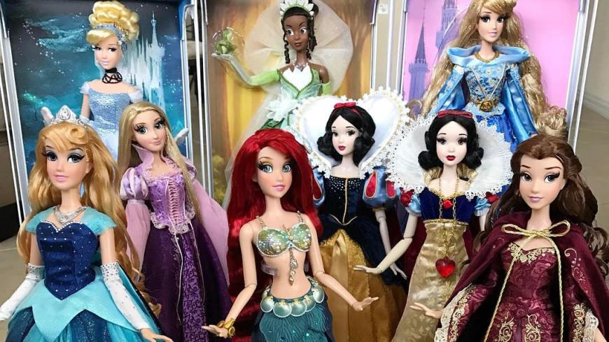 У диснеевских принцесс на руках не оказалось ногтей