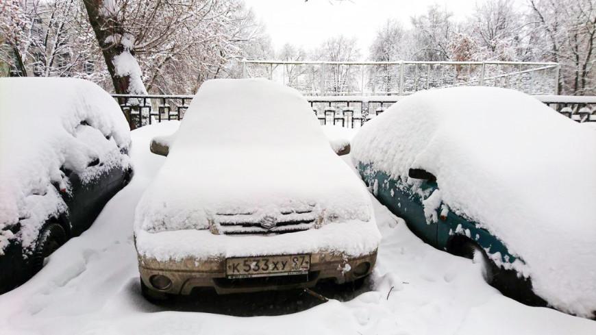 Как освободить автомобиль из снежного плена: шесть простых советов