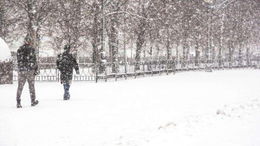 Сретенские морозы в Москве на выходных сменит мощный снегопад