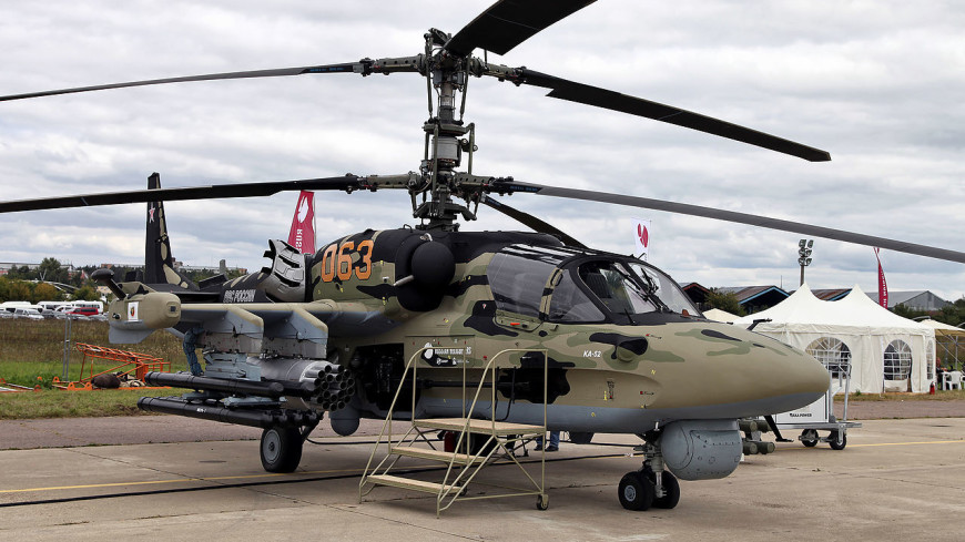 Минобороны купит более 100 вертолетов Ка-52 новой модификации
