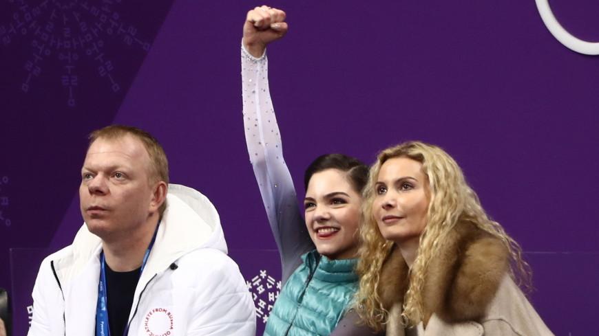 Фигуристка Медведева установила на Олимпиаде мировой рекорд