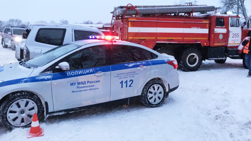 На месте крушения Ан-148 растапливают снег тепловыми пушками