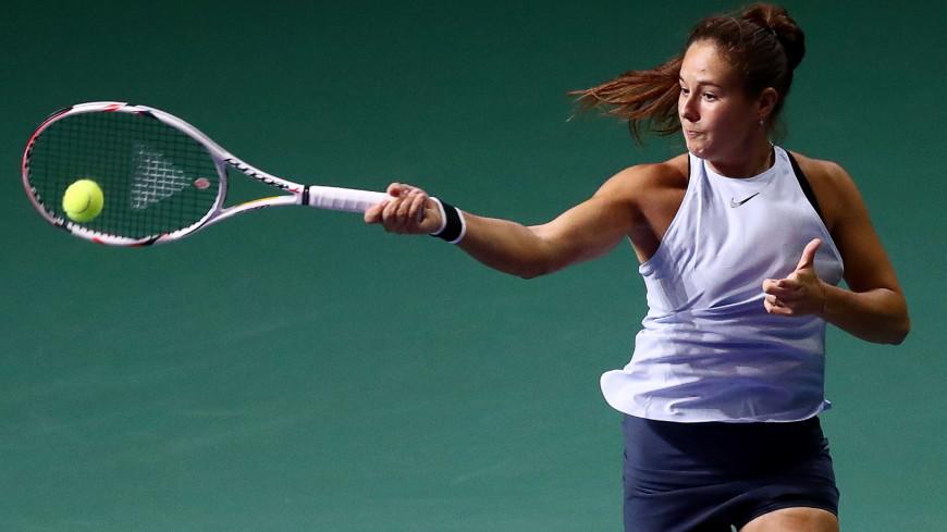 Касаткина не смогла попасть в финал теннисного турнира в Петербурге