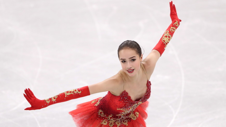 Фигуристка Загитова выиграла произвольную программу на Олимпиаде