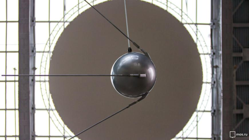 На ВДНХ вернули «Спутник номер 1»