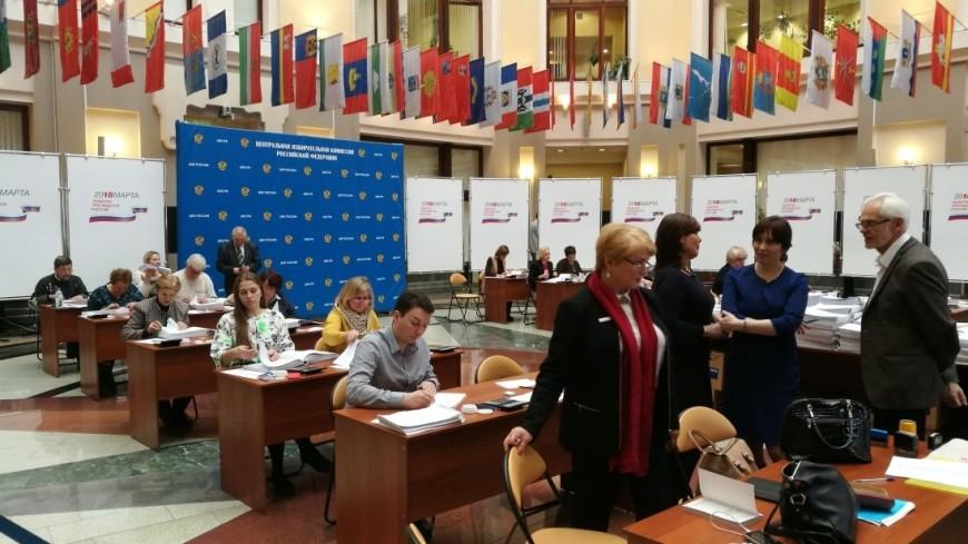 Явка на выборах президента России к 12:00 приблизилась к 35%