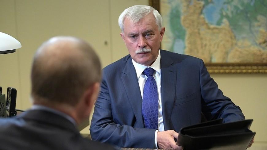 Путин наградил Полтавченко за большой вклад в развитие Петербурга