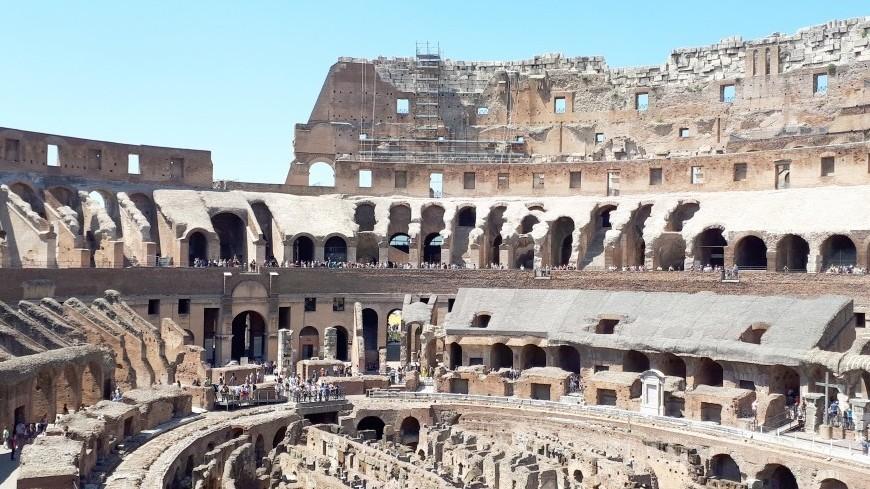 В Рим пришли сильный снегопад и аномальные морозы