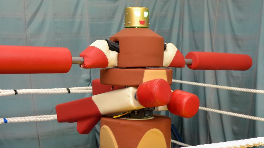 Робот-гладиатор на ВДНХ сразится с посетителями