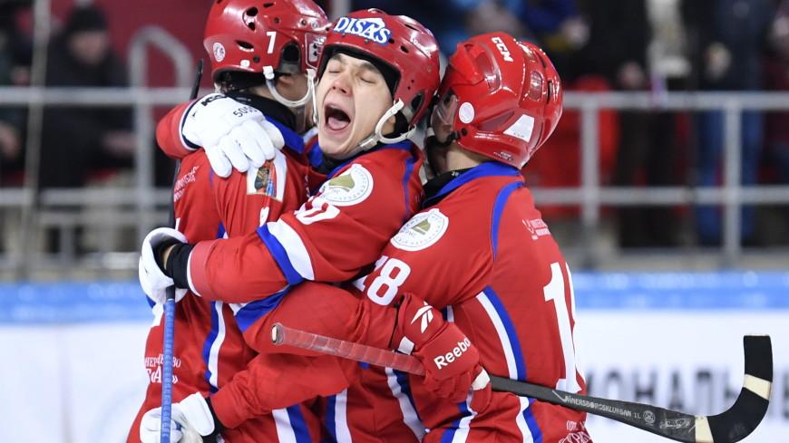 Сборная России по хоккею с мячом в 11-й раз стала чемпионом мира