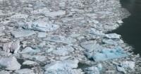 Лед сковал водоемы на севере США