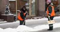 В Астане устраняют последствия снежной бури