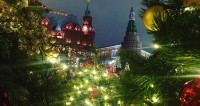 Лабиринт из елок и карусели: Москва с размахом отмечает праздники