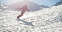 На горнолыжных курортах в Беларуси нехватку снега восполняют пушки